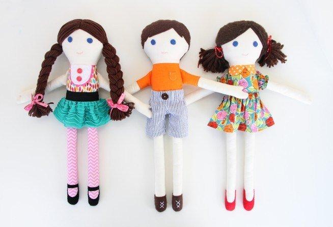Как сшить куклу своими руками чтобы было легко 603
