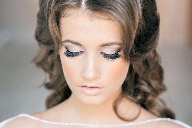 Свадебный макияж для невесты зеленые глаза