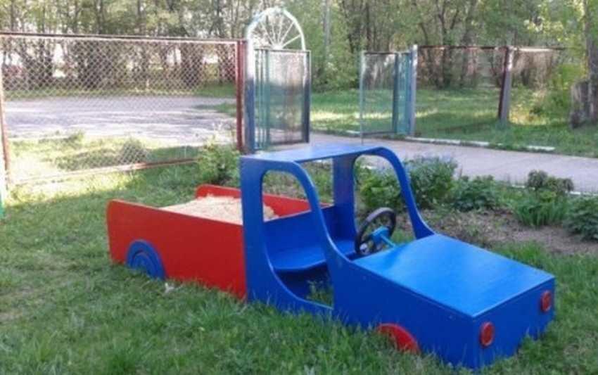 Постройки для детских площадок своими руками 100