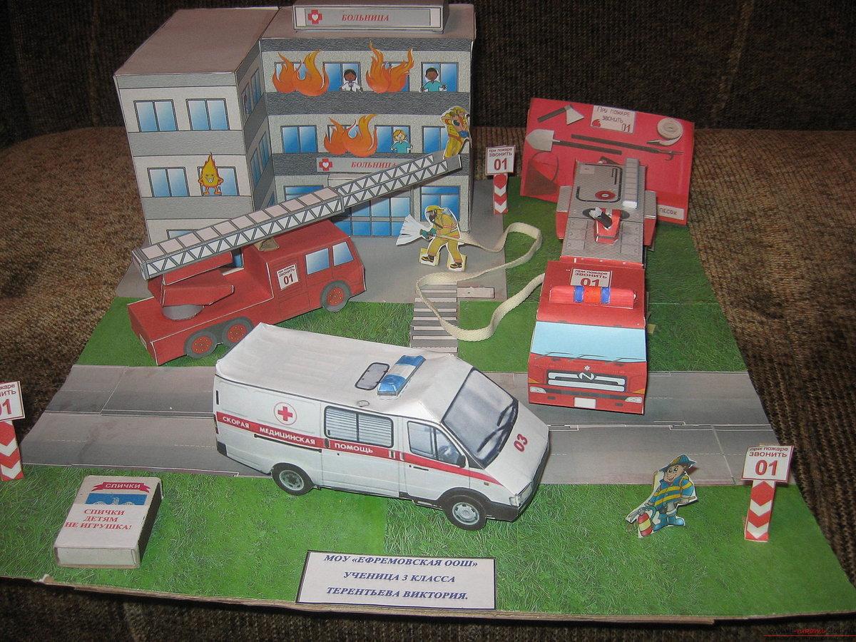 Поделки к пожарной безопасности своими руками 30