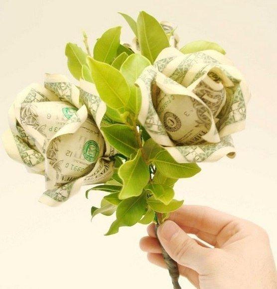 Роза из денег своими руками мастер класс 56