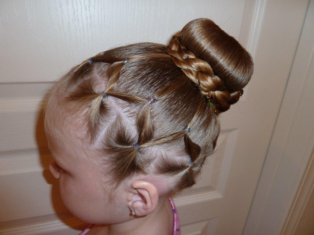 Фото к детям причёски