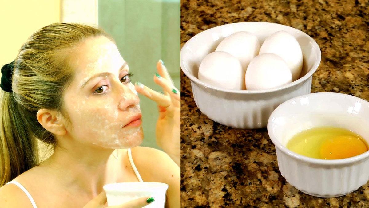 Яичная маска для лица в домашних условиях - маска 933