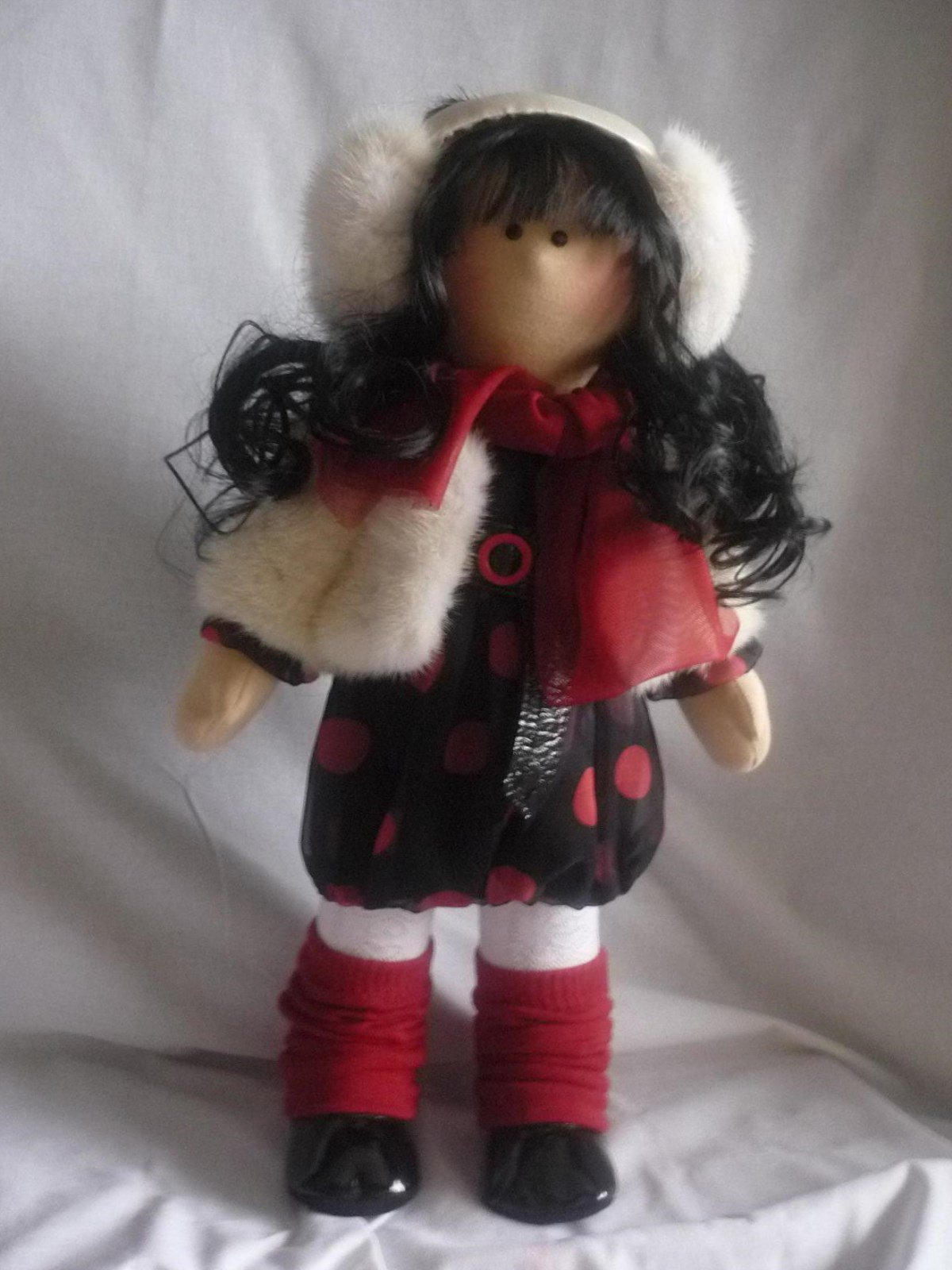 Текстильная кукла от макушки до пяточек Ярмарка Мастеров 31