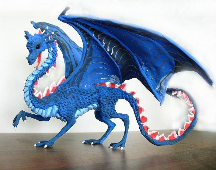 Сделать своими руками дракона из 175