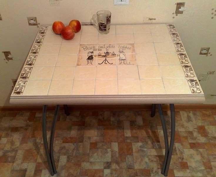 Керамический стол своими руками 62