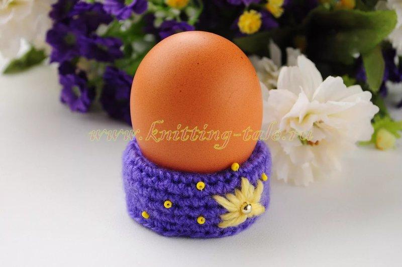 Подставки своими руками под пасхальные яйца