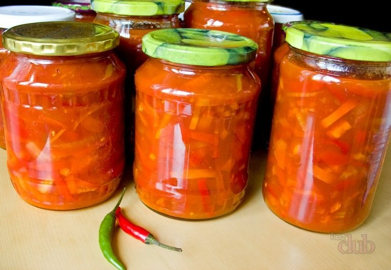 Рецепт с фото лечо на зиму из перца и помидор
