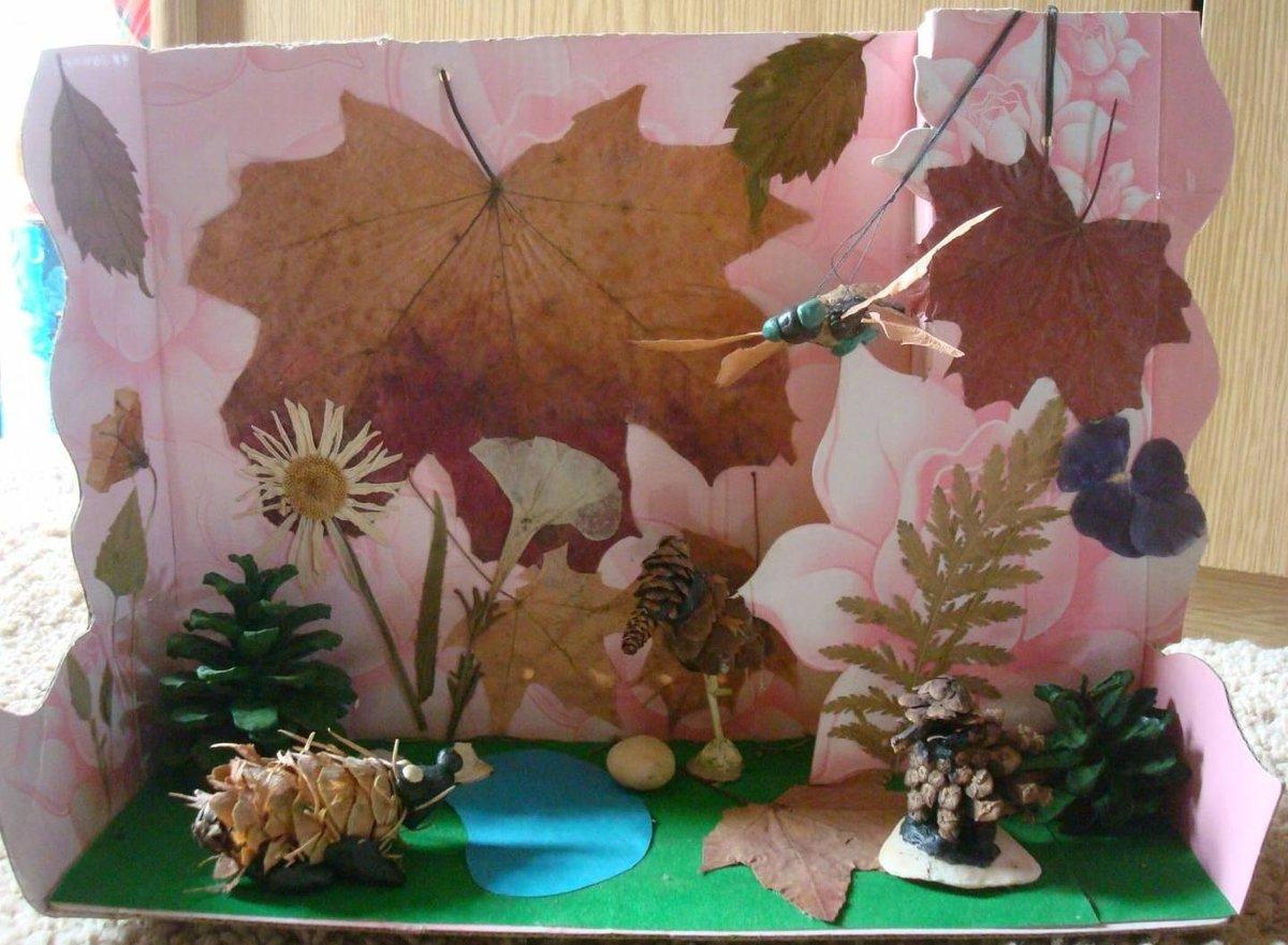 Поделка из подручных материалов на тему экология