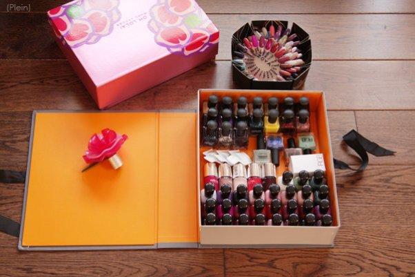 Коробка для лака для ногтей своими руками