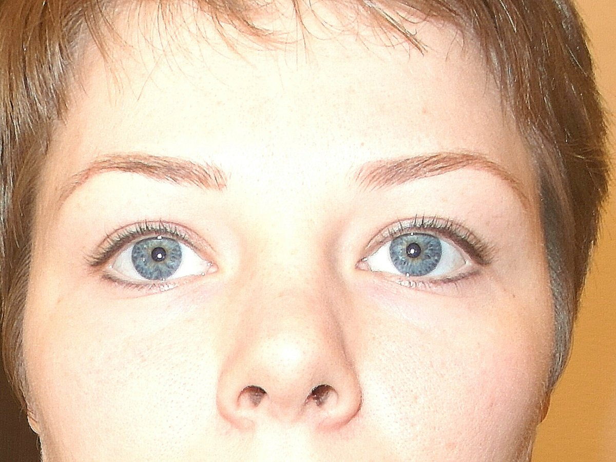 Перманентный макияж век межресничное пространство фото до и после