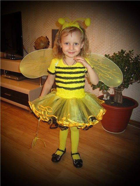 Как сделать костюм для пчелки 873
