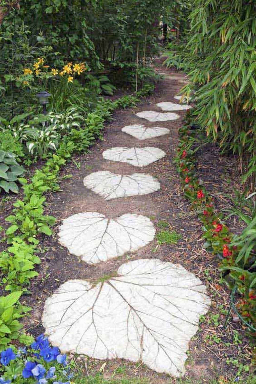 Дорожки для сада своими руками из бетона 560