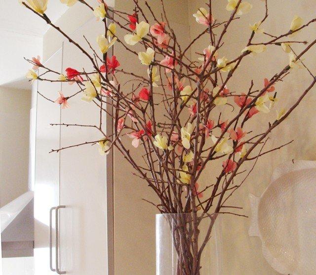 Дерево из веток для поделки 76