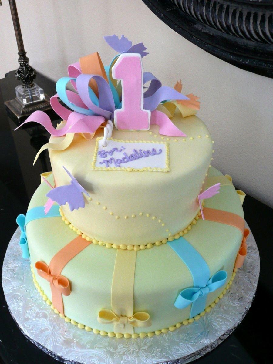 Торты для девочки на день рождения фото своими руками рецепт