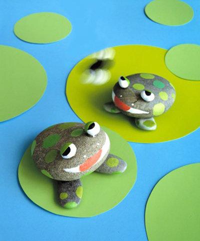 Поделки из камней для детского сада