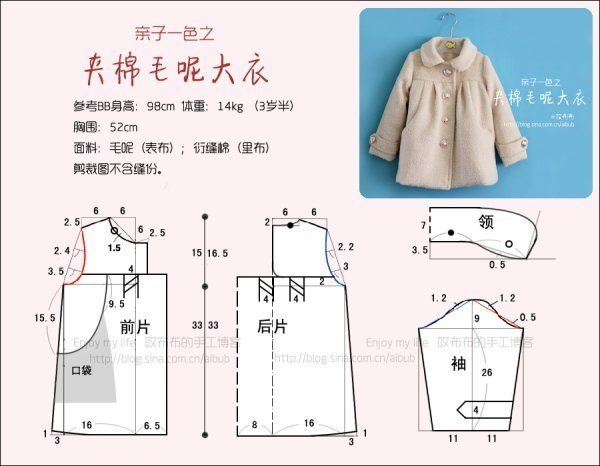 Как сшить пальто своими руками на девочку для начинающих