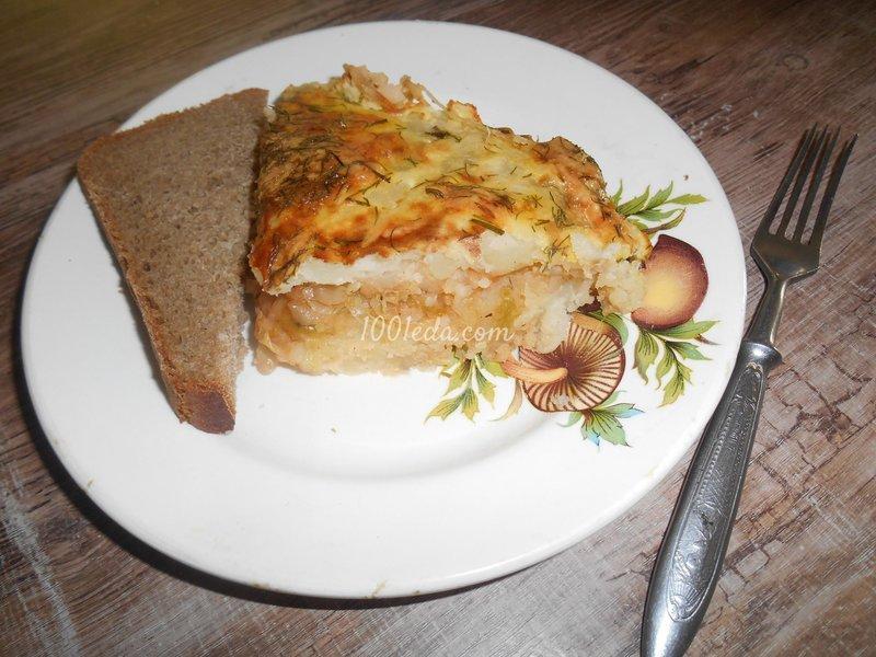 Рецепт запеканка из пюре картофельного