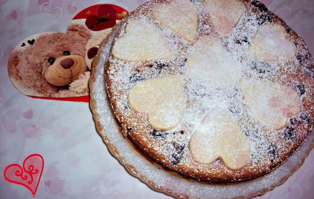 Песочный пирог пошаговый фото рецепт