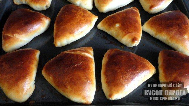 Пирожки в духовке пошаговое