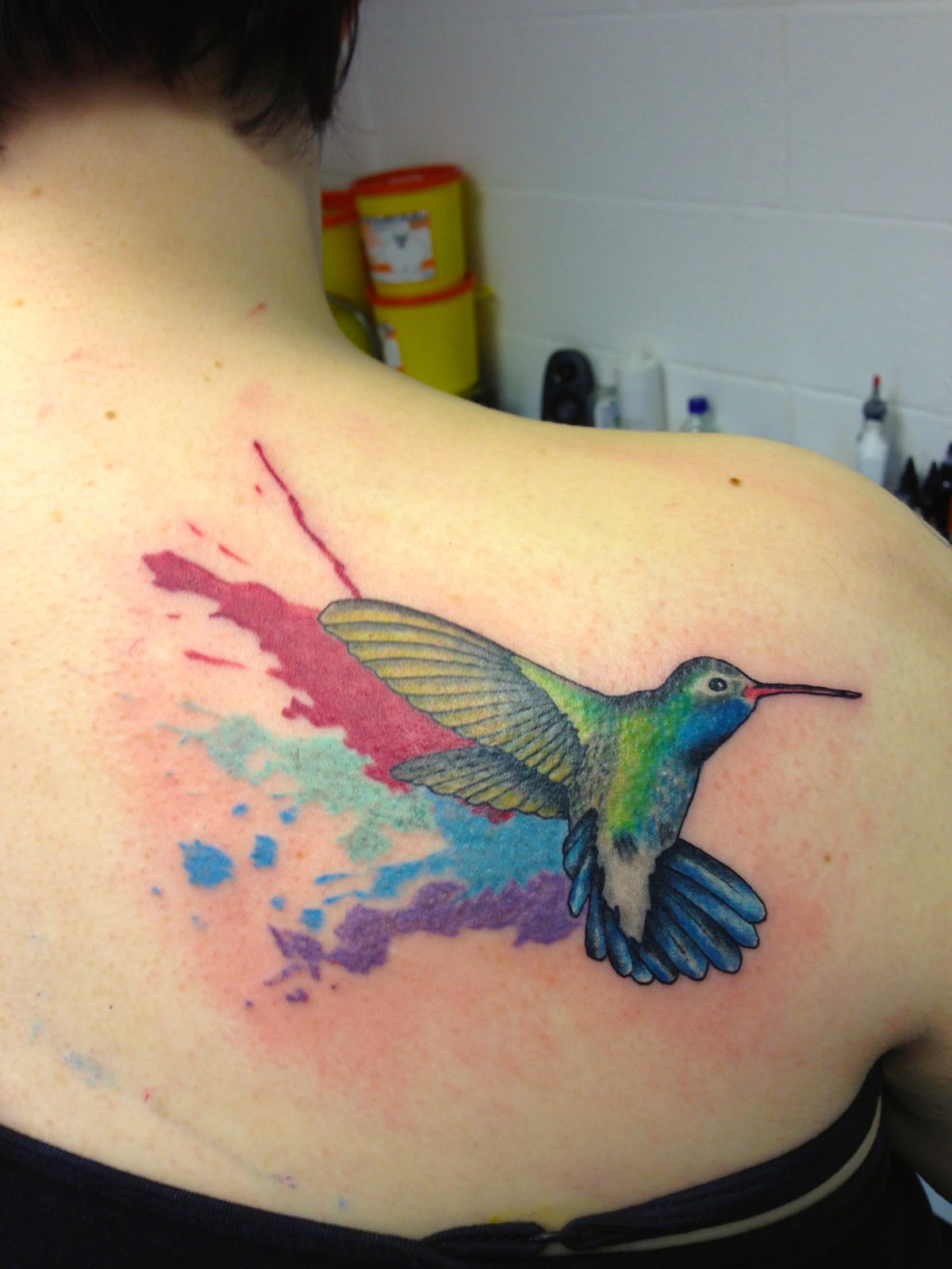 Татуировка колибри - значение, эскизы тату и фото