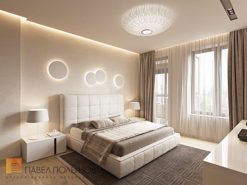Интерьер спальни в современном стиле 16 кв м фото