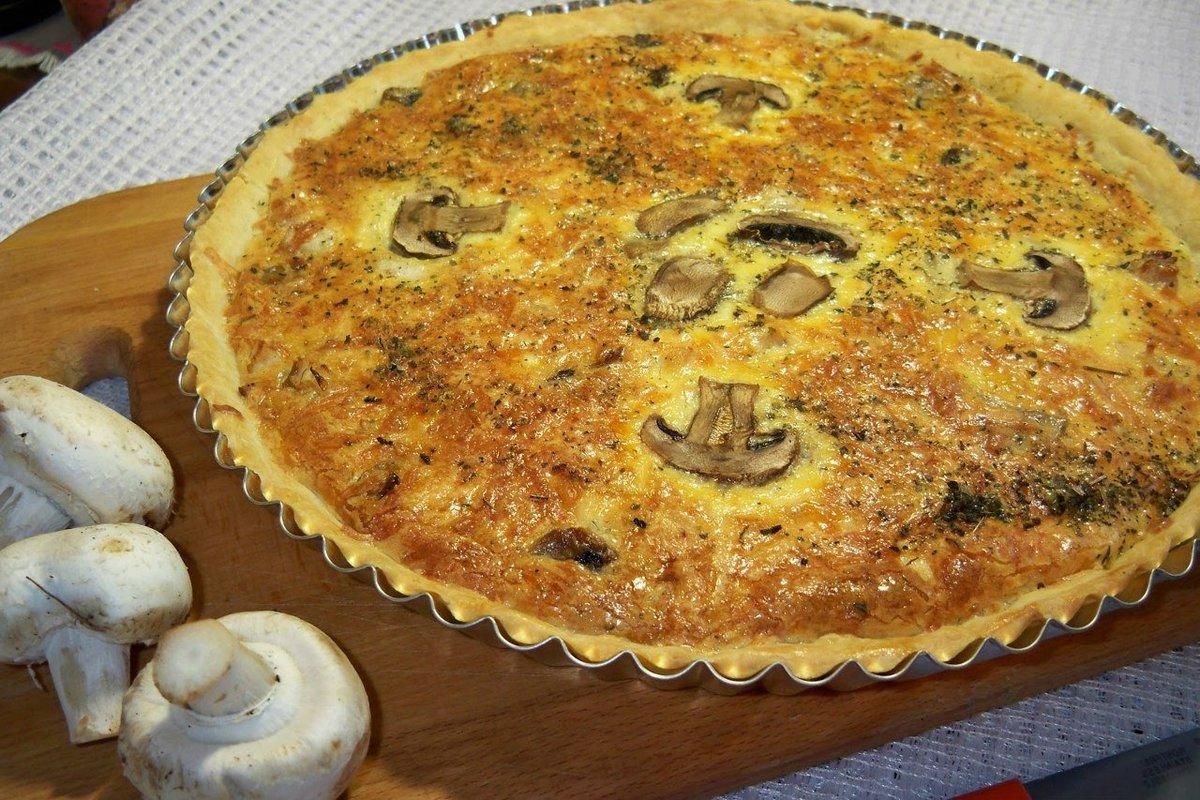 Картофельный пирог открытый в духовке рецепт пошагово