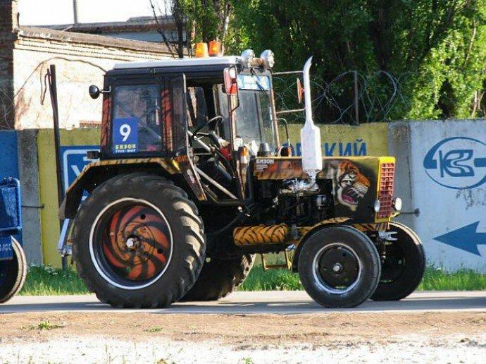 Тюнинг своими руками на трактор 77