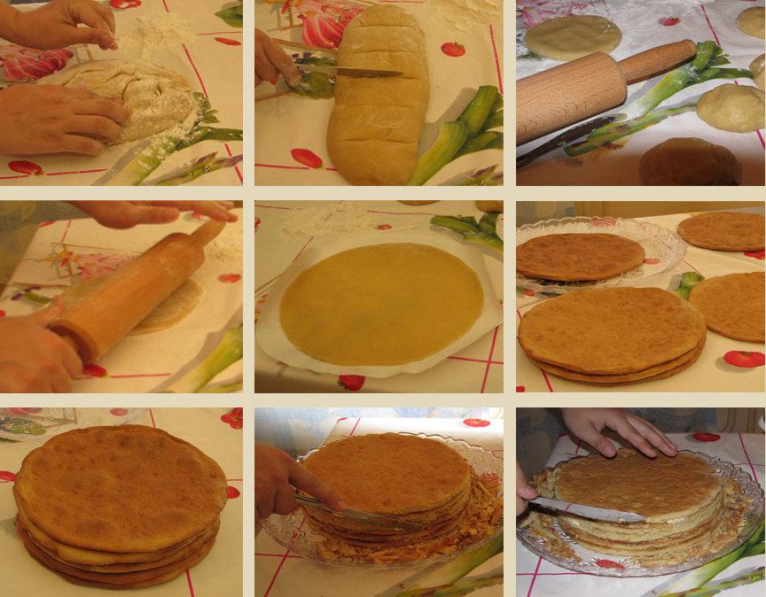 Рецепт с фото пошагово пирожное