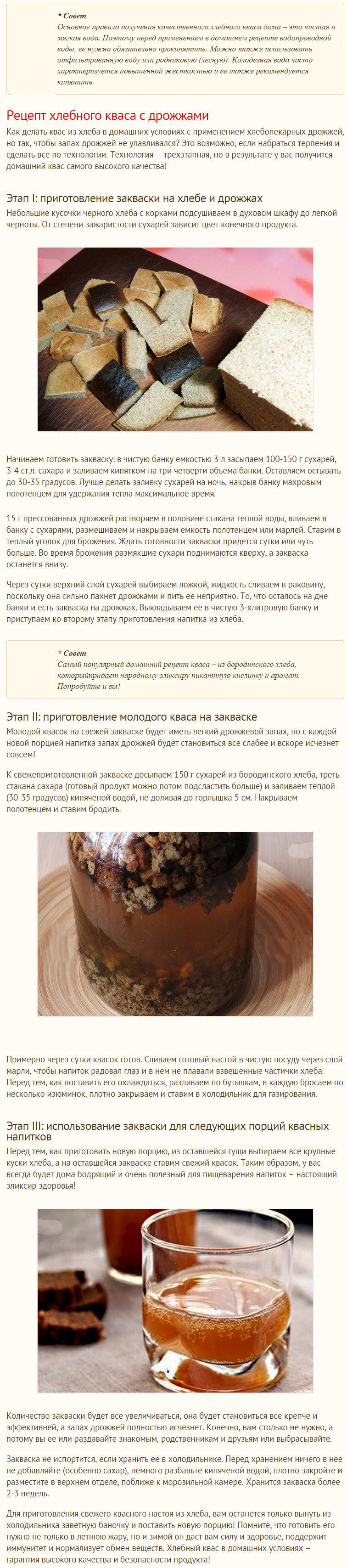 Рецепты приготовления кваса в домашних условиях из  387