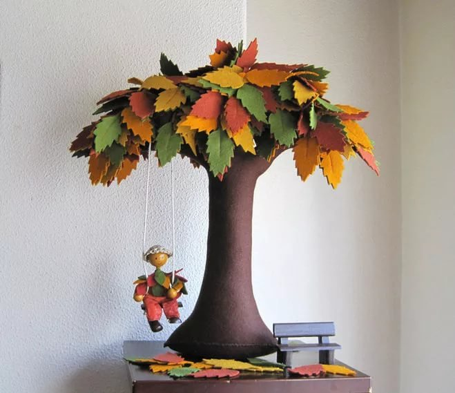 Из чего можно сделать дерево для поделки 12