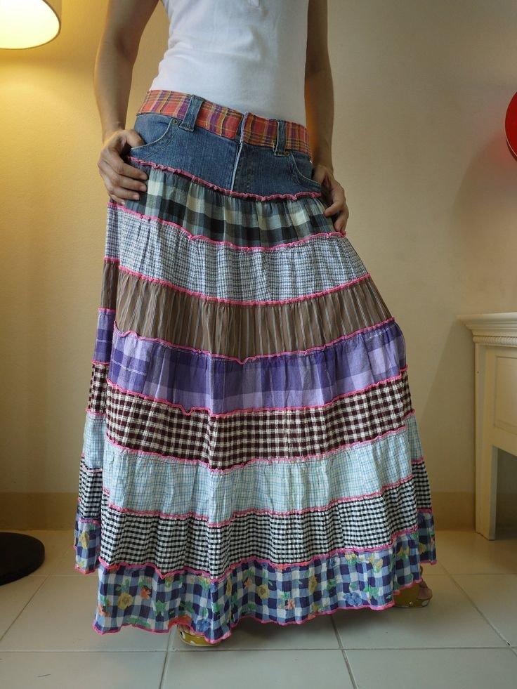 Перешив старой юбки