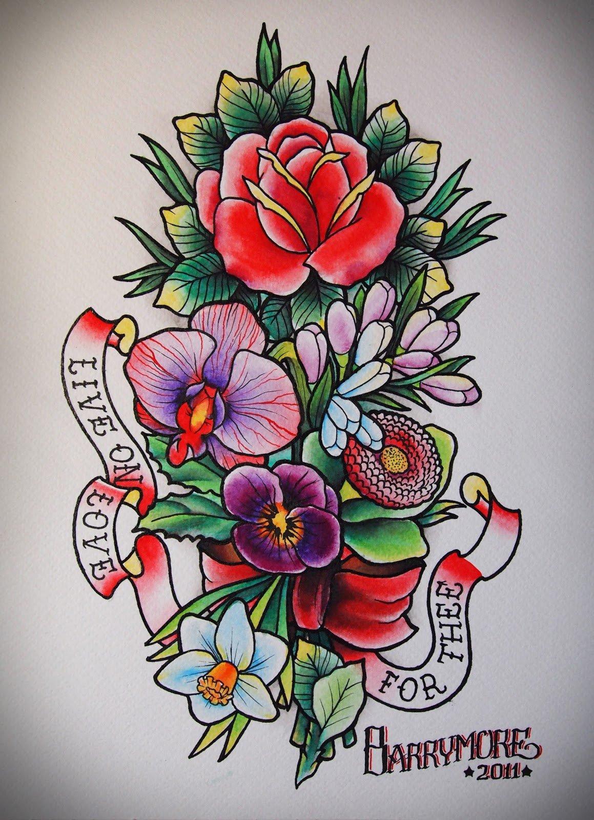 Эскизы татуировок 32