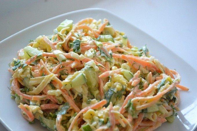 Простые интересные салаты рецепты с простые и вкусные рецепты