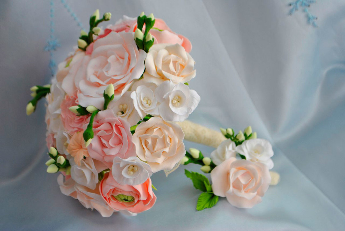 Букет дублер для невесты своими руками мастер класс