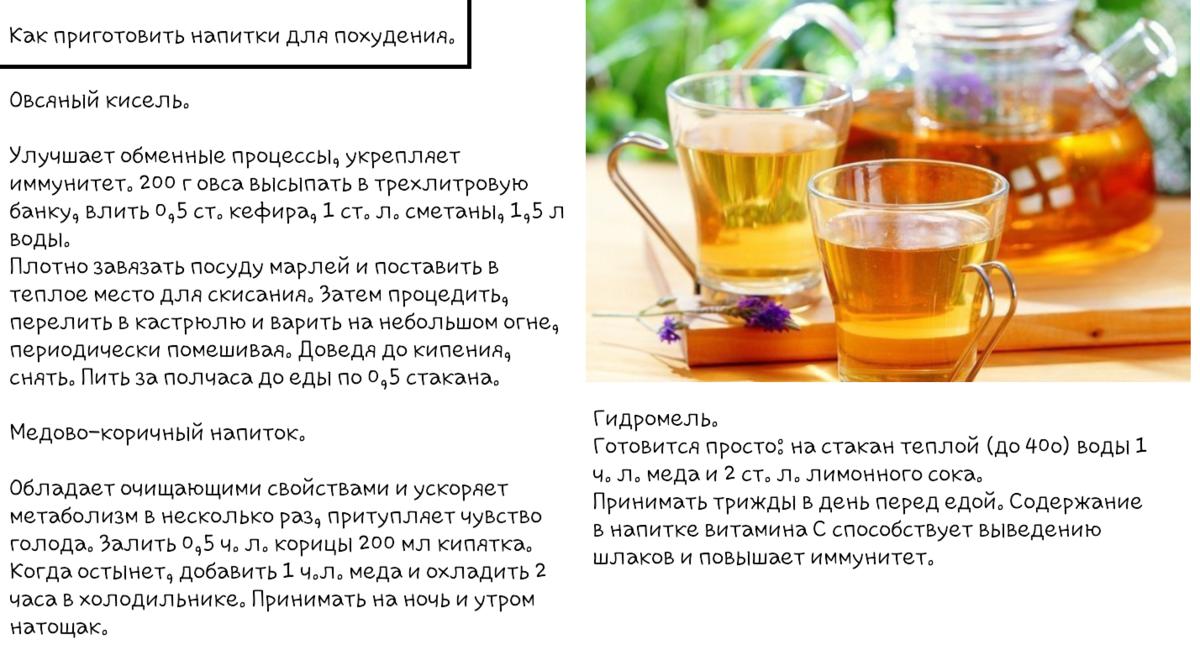 Вкусные коктейли для похудения: рецепты в домашних условиях