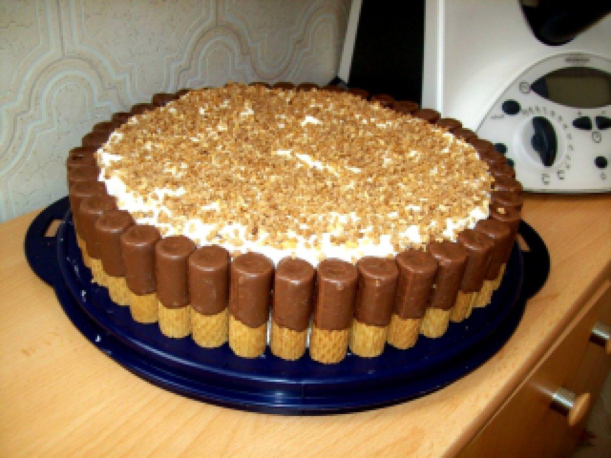 Как сделать шоколадный торт из покупных коржей