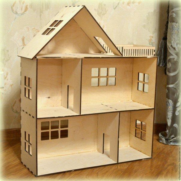 Кукольные домики своими руками фото из фанеры  916