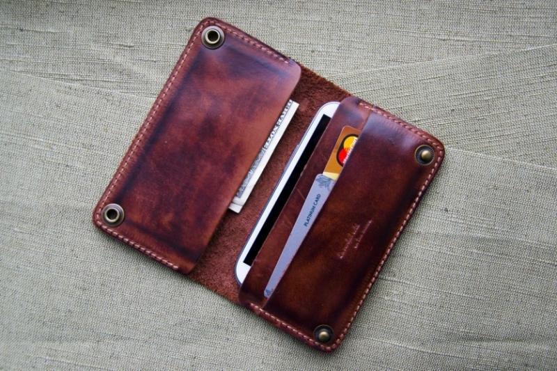 Кожаные портмоне своими руками фото 31
