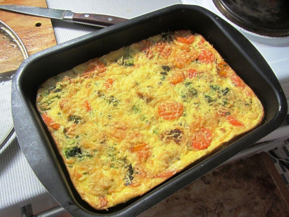 Запеканка из цветной капусты и брокколи рецепт 153