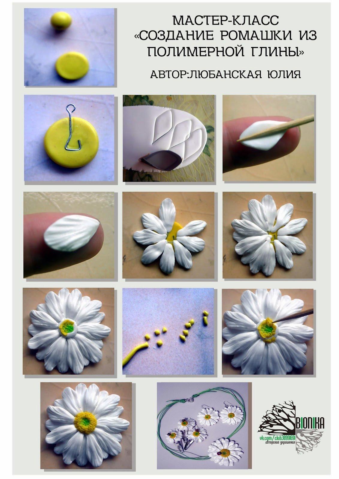 Термопластика своими руками цветы