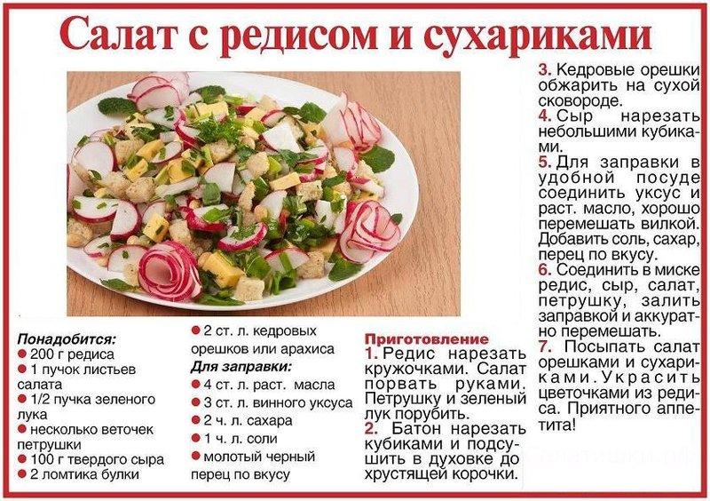Овощные и фруктовые салаты рецепты с простые и вкусные