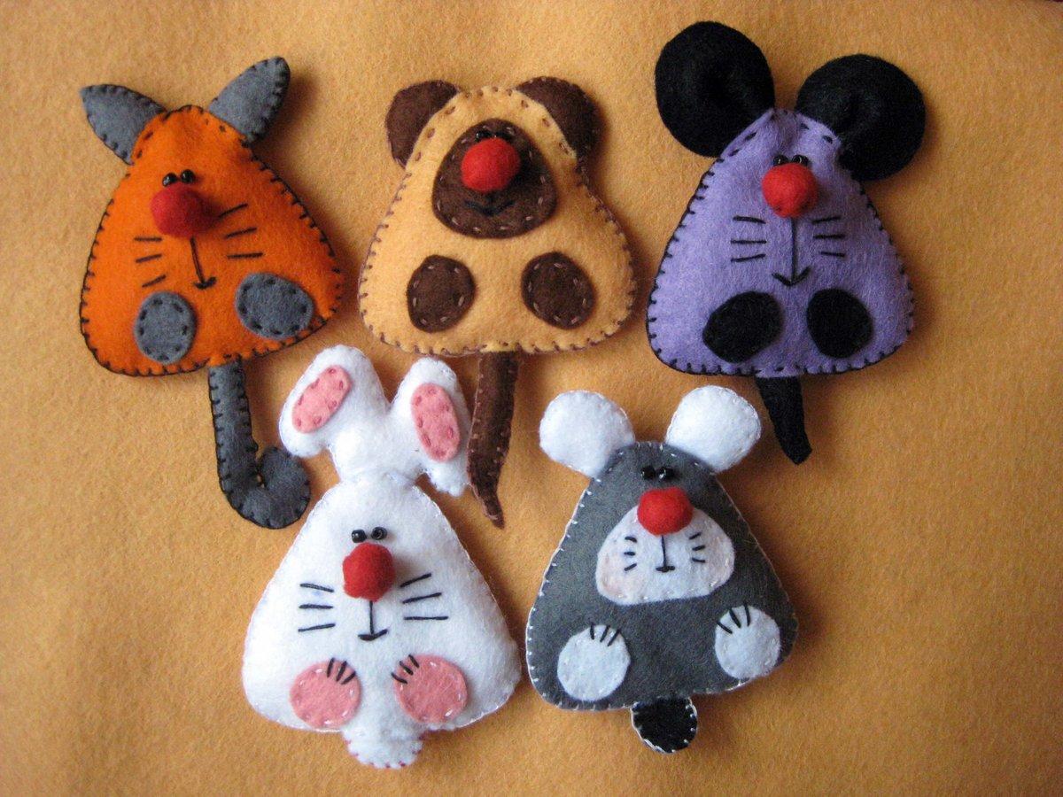 Как сшить детские игрушки из фетра