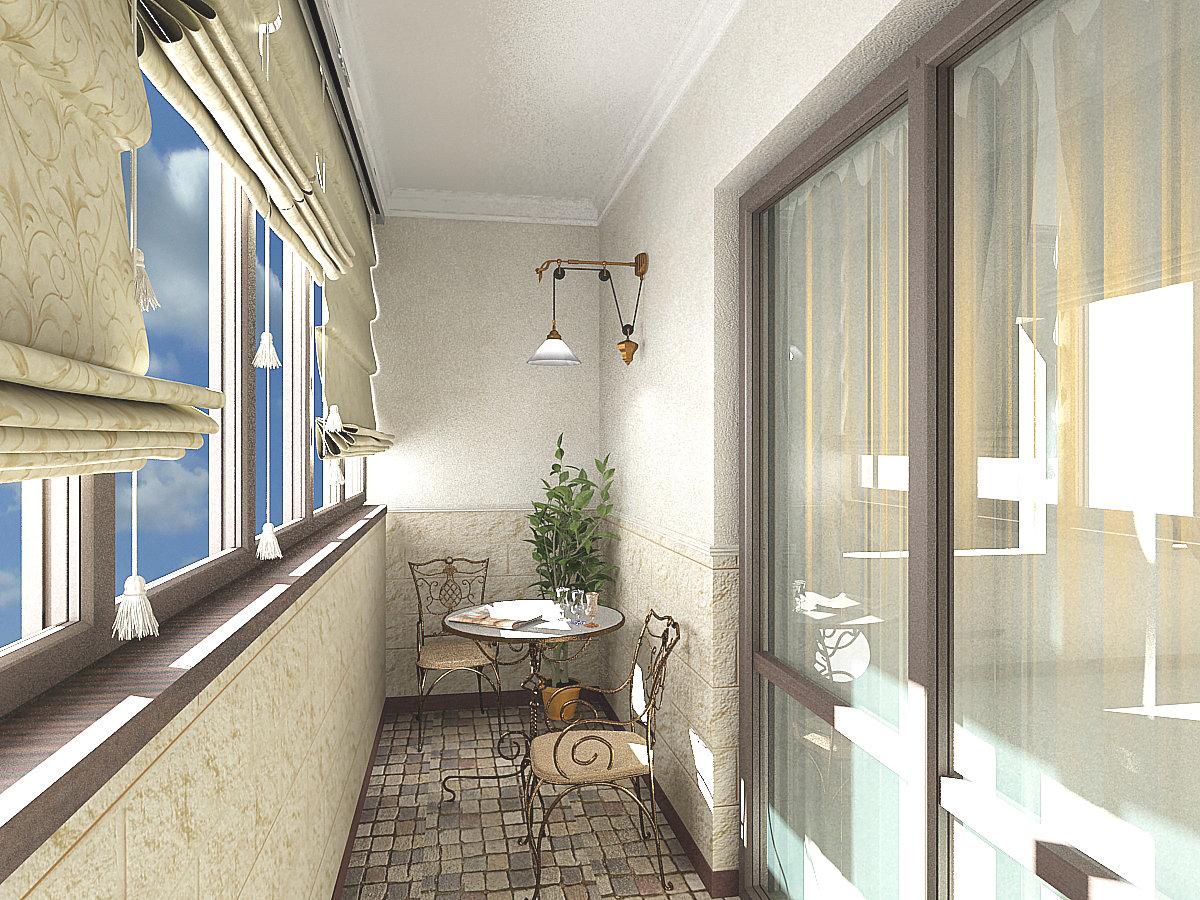 Балкон снаружи дизайн 2017-2018