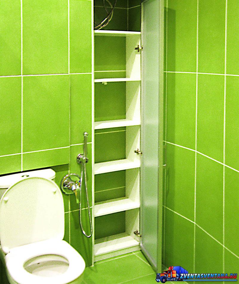 Шкафчики в ванную из панелей своими руками