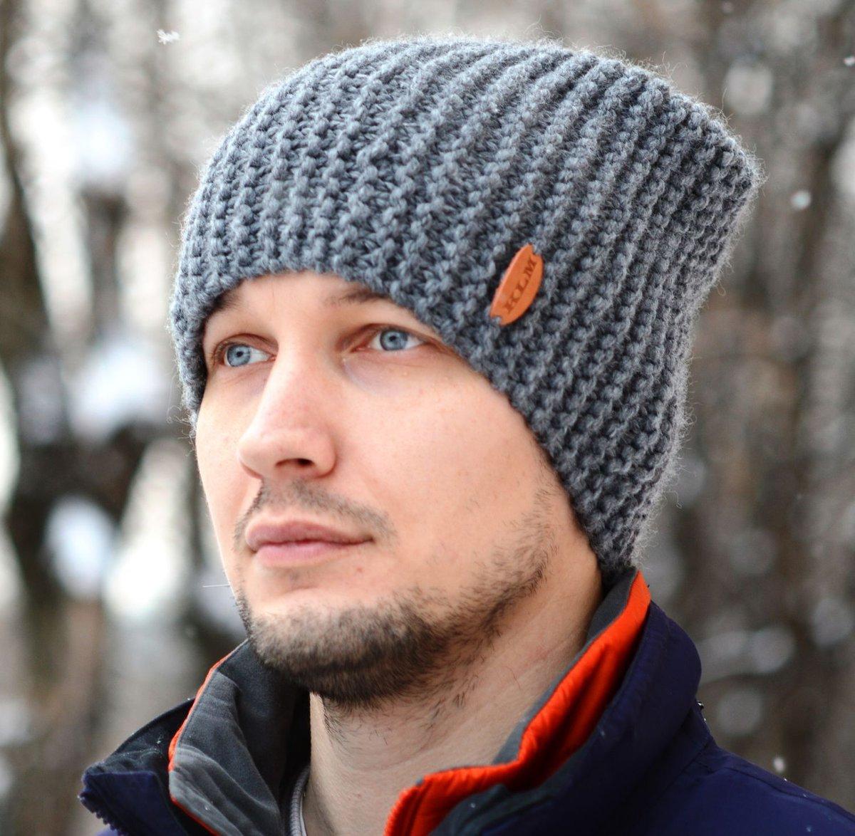 Как сделать мужскую шапку