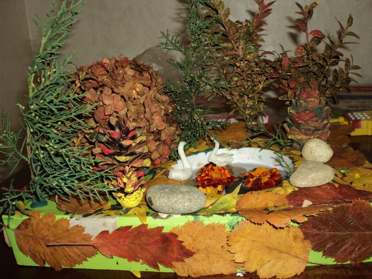 Поделка в садик на тему осень мастер класс