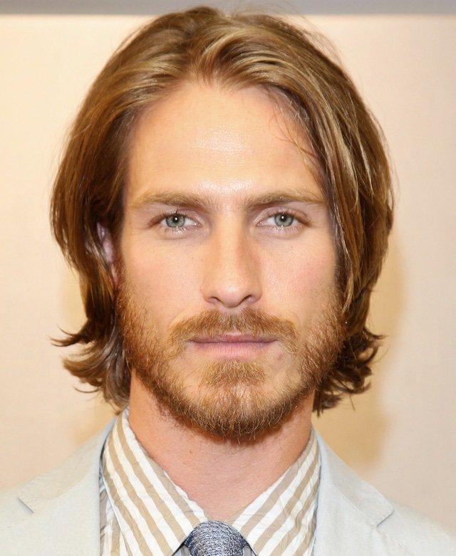 Мужские причёски на длинные волосы