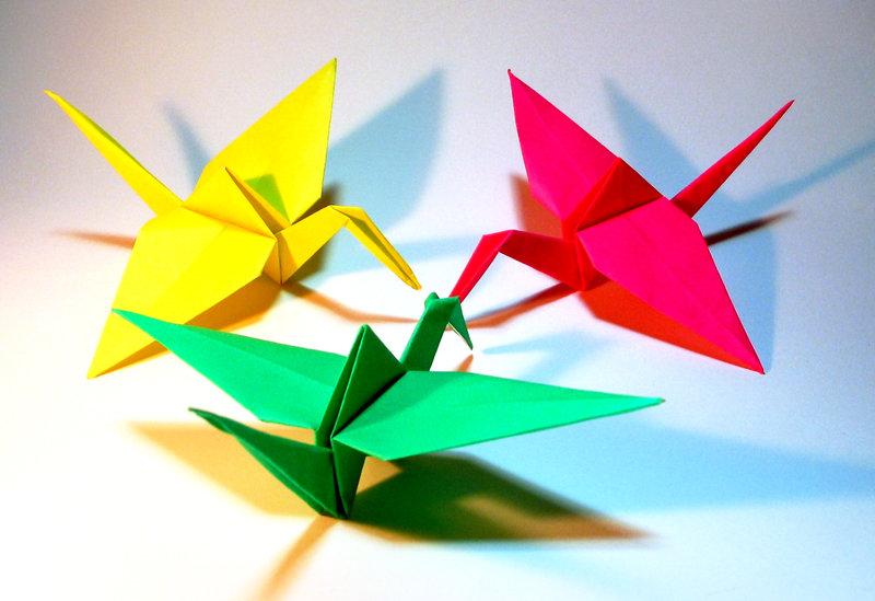 Поделки из бумаги оригами в картинках