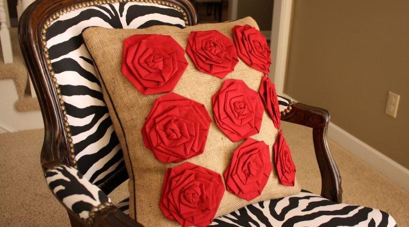 Декорирование подушек